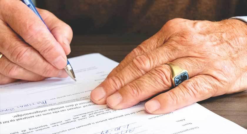 Registration of death